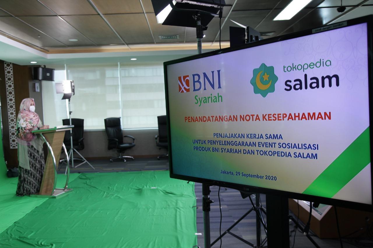BNI Syariah Jalin Kerja Sama dengan Tokopedia - Media ...